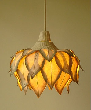 lamp by Sachie Muramatsu