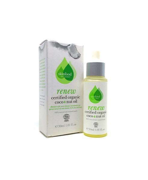 Certified Organic Coco+Nut Oil, levetrina, skin food, organic, face, oil, coconut, neck