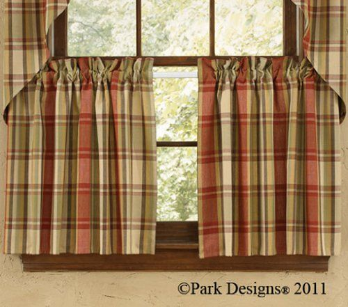 Country Red Kitchen Curtains: 1000+ Images About Curtains On Pinterest