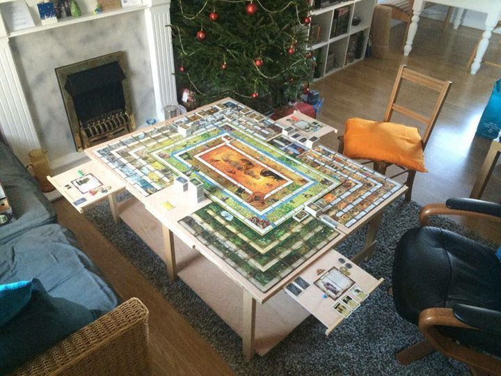 179 Best Board Game Tables Images On Pinterest | Board Game Table, Board  Games And Game Tables