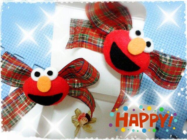 Elmo hairclip