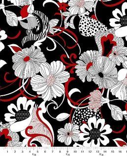 Graphic Elegance - Large Floral