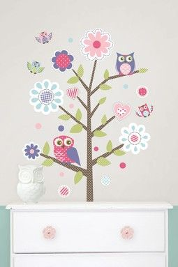 Owl Love Wall Art Kit