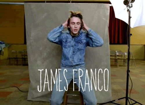 James Franco, Freaks and Geeks  http://filmonic.com/7-movies-help-james-franco-never-get-tricked-social-media-ever