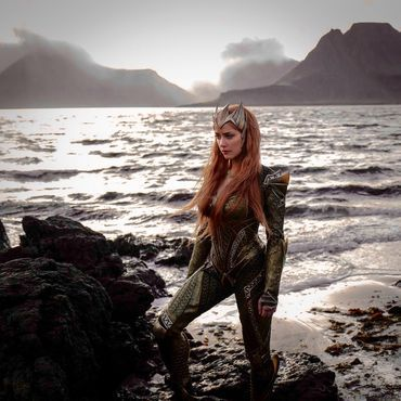'Justice League' star Amber Heard makes waves as the queen of Atlantis     - CNET #news #trends