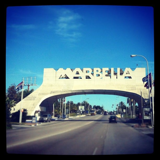Marbella i Málaga, Andalucía