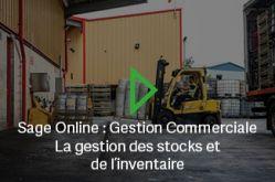 Découvrez la vidéo sage online gestion commerciale : la gestion des stocks et des inventaires avec l'éditeur SAGE et son partenaire PROJECT SI 0140962119