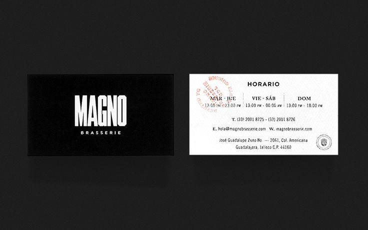 Magno Brasserie   Anagrama
