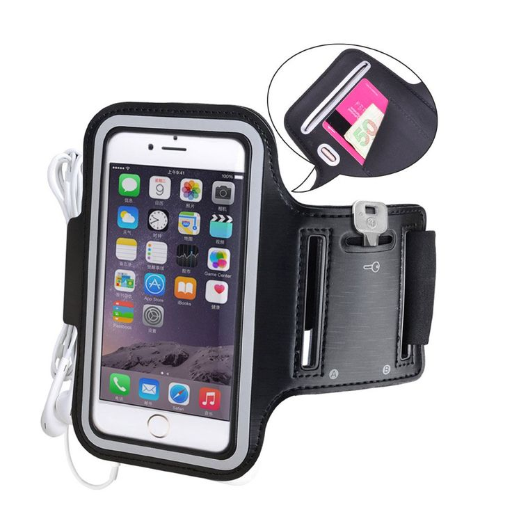 Avantree iPhone 6 6s plus Armband, Running Armband, Water Resistant, Jogging Sports Armband for Galaxy S6 Note 5 Nexus 6P Moto X OnePlus 2 - Armor. This iphone 6 plus armband has a card/money pocket, a key holder slot and an earphone holder, making it an ideal armband for sports. Made from high-quality premium neoprene material, this sports armband is built to last. If you need an iPhone armband for running at all times of day, this sports armband¡¯s reflective silver trim provides safety…