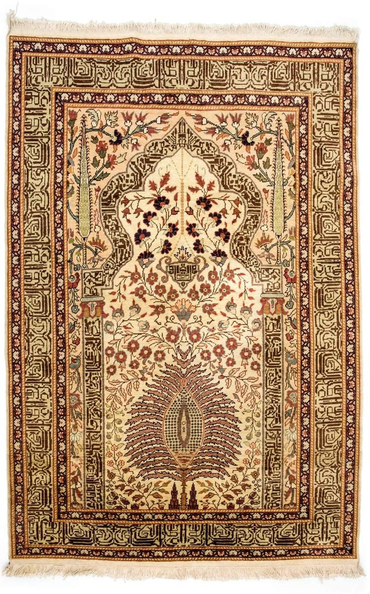 HEREKE CARPET, TURKEY Dimensions: approx. 175 x 117 cm I  Albahie Auction House