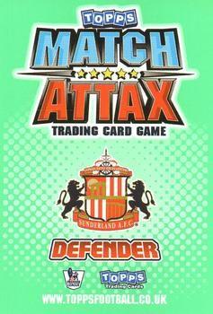2010-11 Topps Premier League Match Attax #254 John Mensah Back