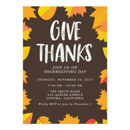 Best 25 Thanksgiving invitation ideas – Thanksgiving Party Invite