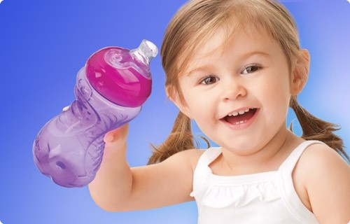 Nuby super spout cup 10 oz.  Buy them here:  http://shop.nubysippycup.com/Nuby-SUPER-SPOUT-10-oz-Tall-Easy-Grip-Sippy-CUPS_c23.htm