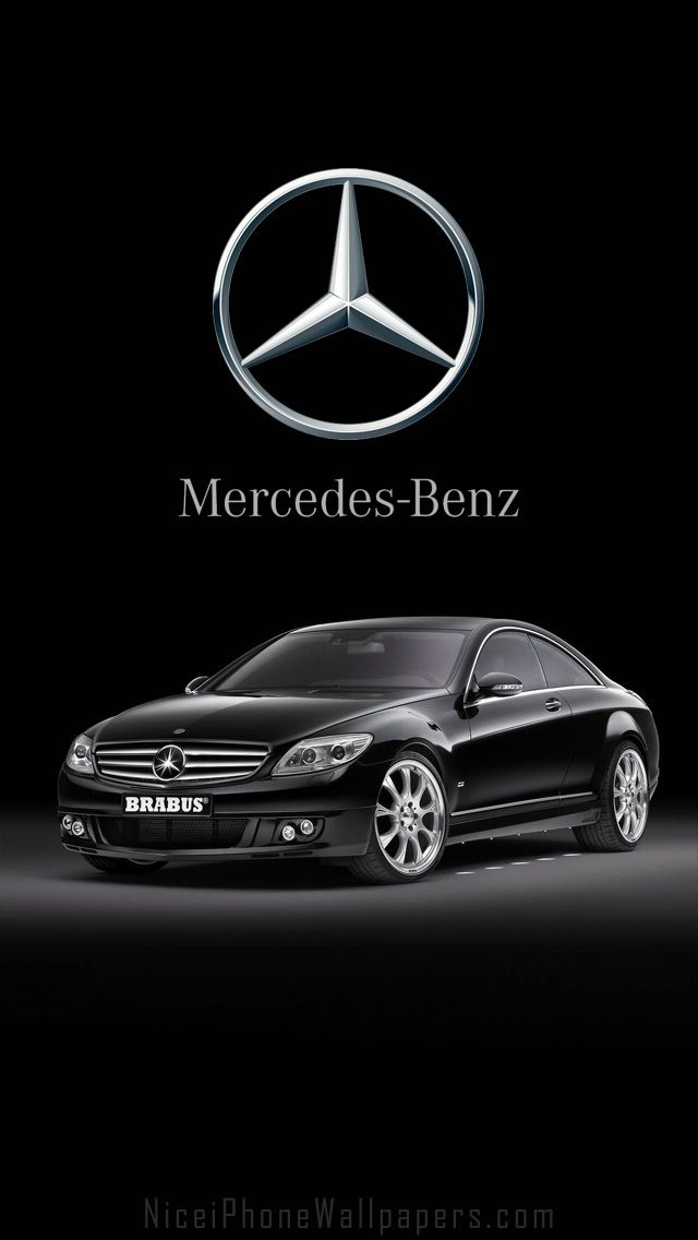mercedesbenz cl600 brabus hd iphone 5 wallpaper cars