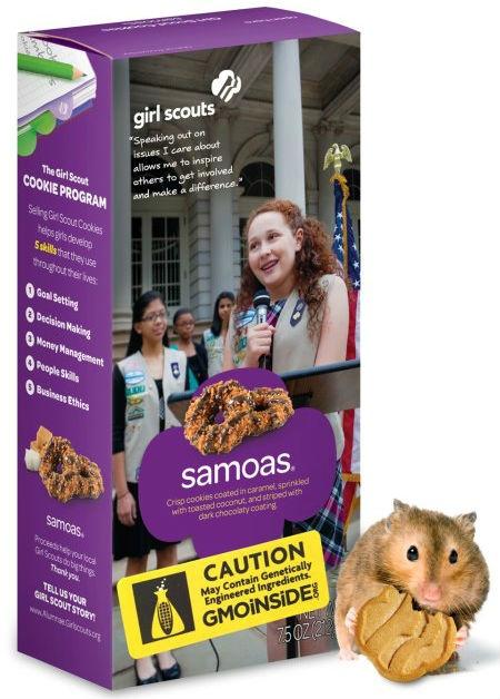 Homemade Non GMO Samoa Girl Scout Cookies