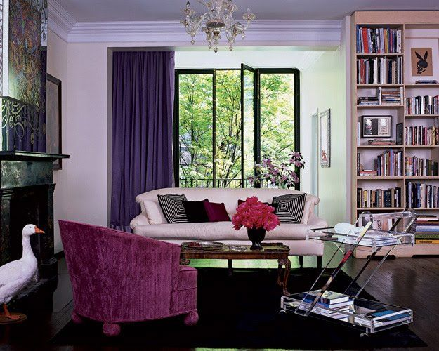 ELLE Decor Traditional Living Rooms | living room cynthia rowley elle decor via peppermint bliss