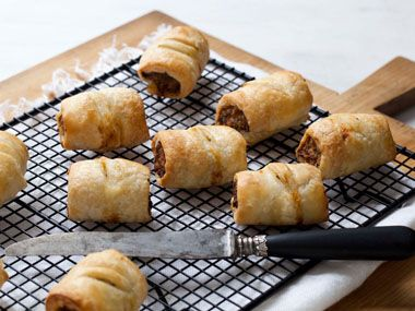 Sausage Rolls by Annabelle White | Recipe