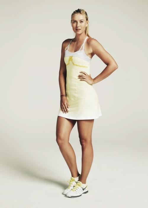Maria Sharapova. 2013 Australian Open Outfit.