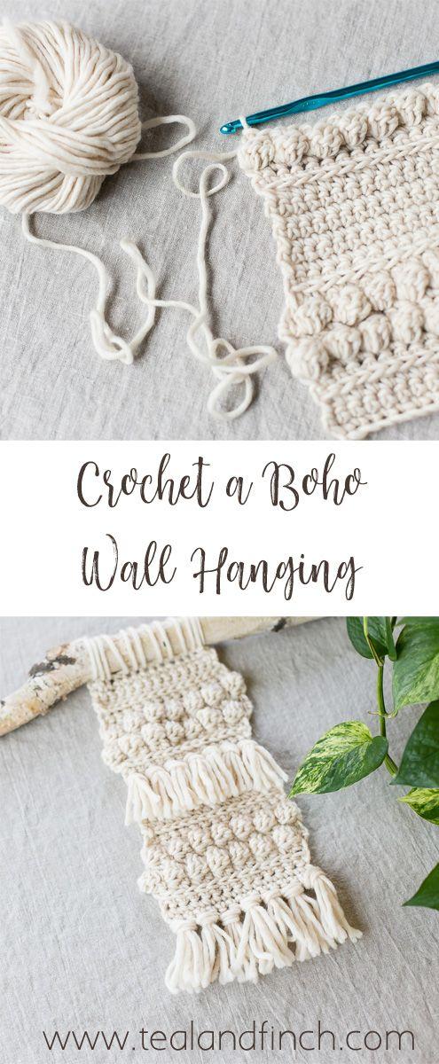 Crochet a Boho Wall Hanging | Crochet | Pinterest | Croché ...