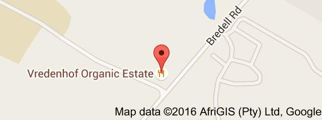 Map of Vredenhof Organic Estate