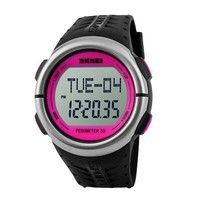 Wish | New Digital Sports Watches Women Sports Watches Heart Rate Monitor Pedometer Calories Counter Running for Women Wristwatches