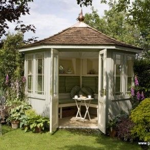 The Newhaven Corner Summerhouse | Garden Buildings Supplier Norwich, Norfolk | Superior Garden Buildings
