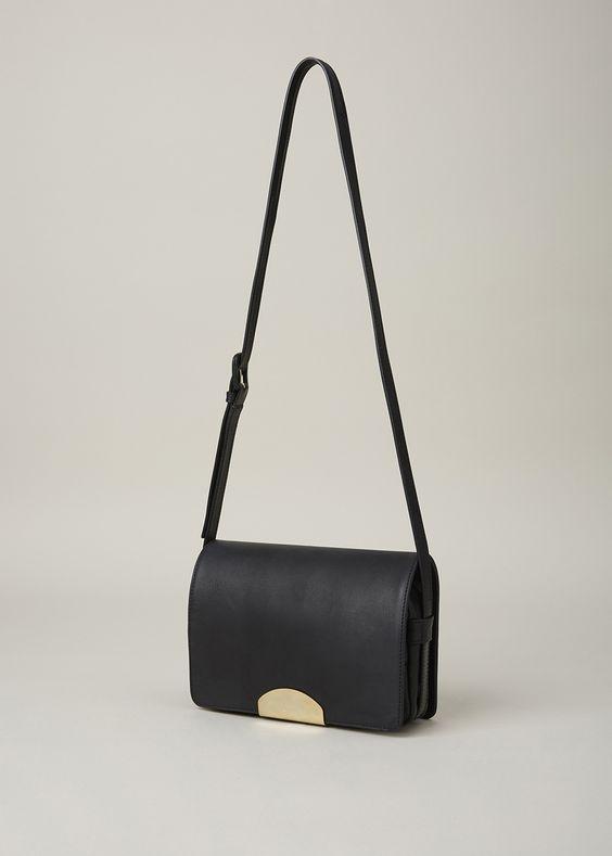 13ec890c41 Maison Margiela Small Crossbody Bag (Black)