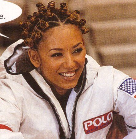 'NASA Jacket' by Polo Ralph Lauren, worn by Mel B of the Spice Girls (1997)