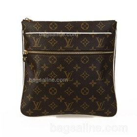 Louis Vuitton Monogram Canvas Valmy Clutch - Coffee M40524  $149.00