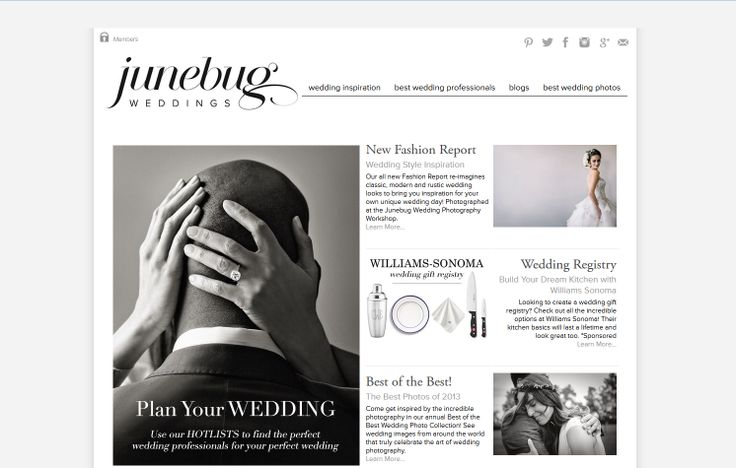 Inspiration Infusion: Junebug Weddings - Find out how Christy, Blair and their website JunebugWeddings.com is inspiring my photography, my wedding, and my online presence! -  London Wedding, Portrait & Fine Art Photographer Rebecca Nash Photography
