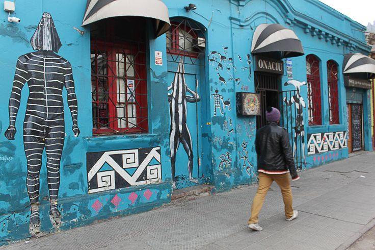 Calle Loreto, Santiago - Chile
