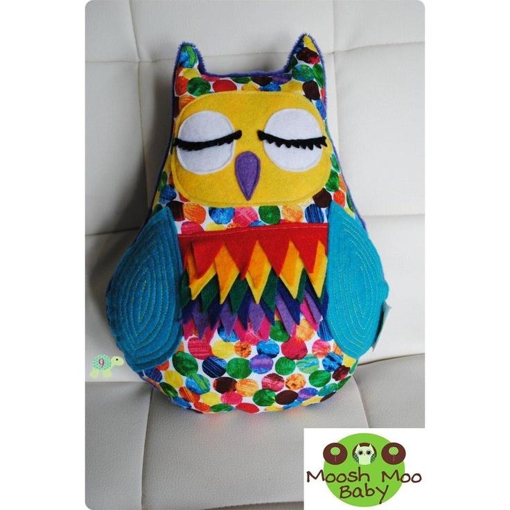 MooshMooBaby - Cuddly Owl Rainbow  @LadybirdToTheTurtle