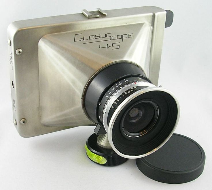 SCARCE Globuscope Hand Held 4x5 Wide Angle View Camera