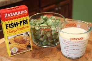 The Best Fried Okra (easy too) - Southern Bite