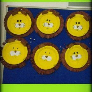 paper plate lion craft  (4)