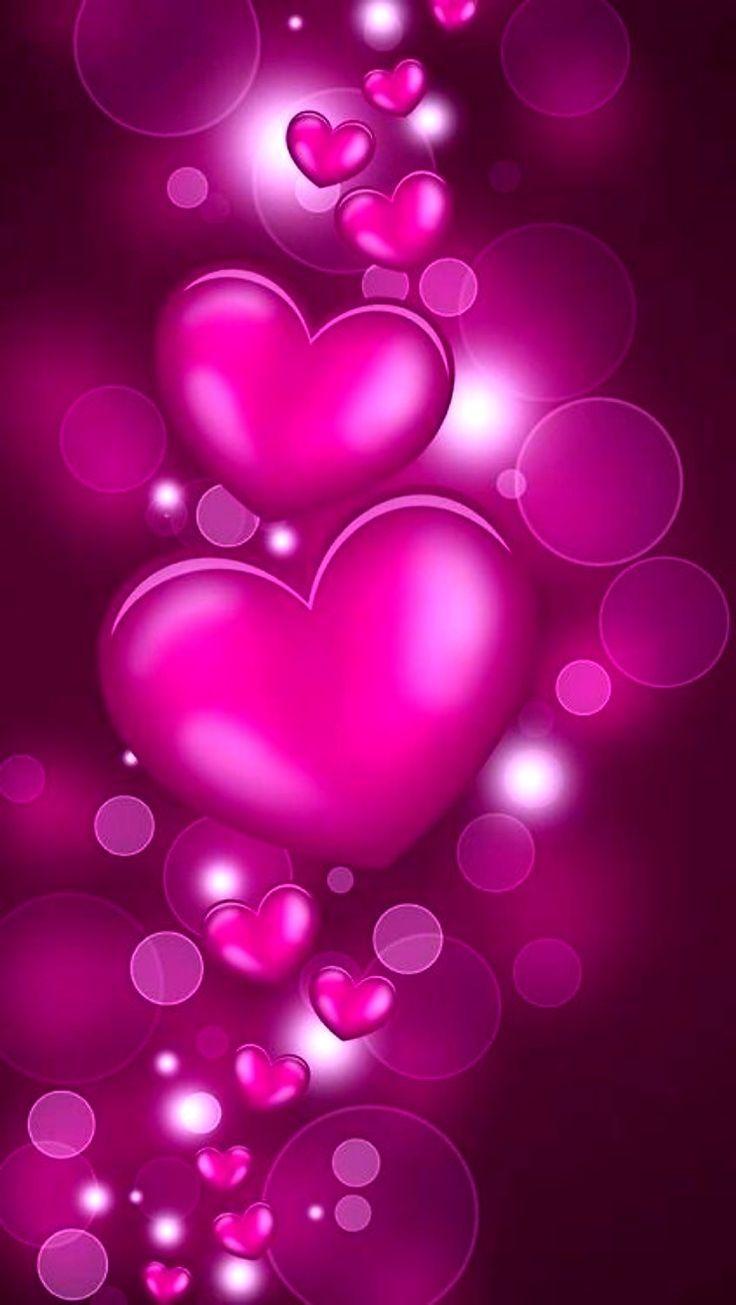 Beautiful Flower Background Desktop Heart Wallpaper Cute Love Wallpapers Cellphone Wallpaper