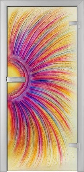 Fused Glass Doors - Arcoboleno 01