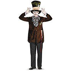 Disguise Men's Mad Hatter Deluxe (Movie), Halloween Costume