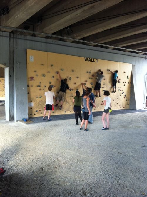 The Burnley Bouldering Walls - a precedent for bouldering in public space?