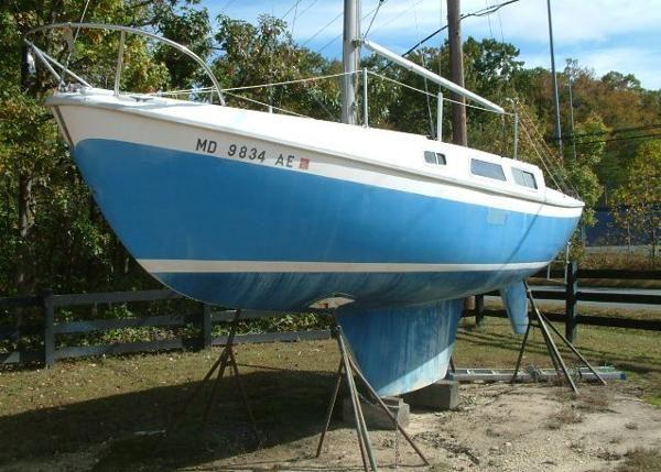 Used 1969 Cal Yachts 25 Sloop, North East, Md - 21901 - BoatTrader.com