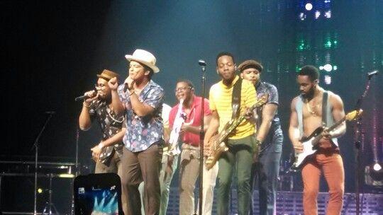 Bruno Mars, concierto Monterrey, Mexico 2014
