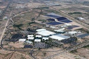 Univeristy of Arizona Completes Phase One of Solar Testing Facility