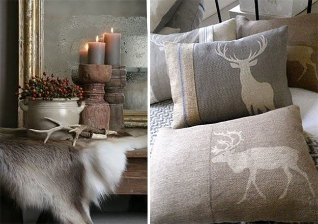 Candles and Cushions