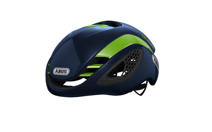 Oferta casco  ABUS GAME CHANGER el casco del equipo ciclista Movistar