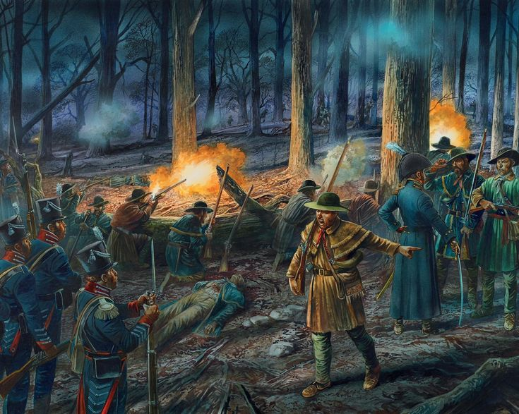 Battle of Tippecanoe 1811.  Tecumseh would later become an ally of the British during the war of 1812.