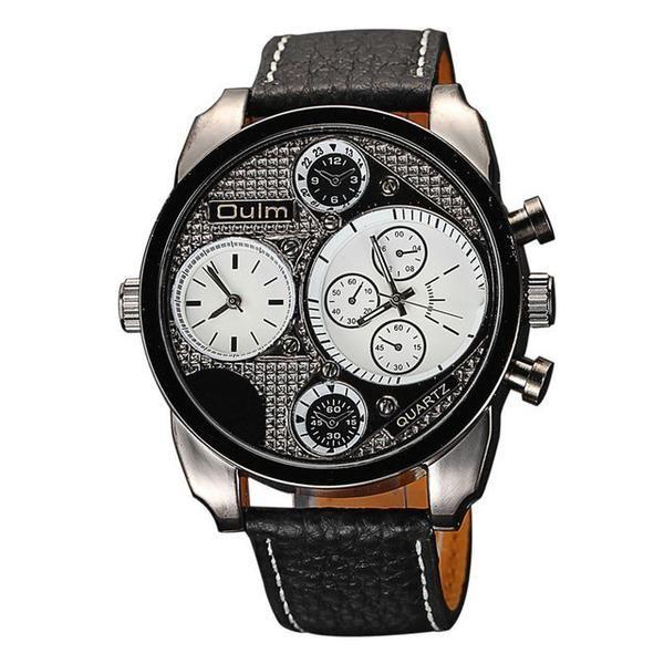 Oulm Watches Male Quartz-Watch – Kangaroo Pocket Shop