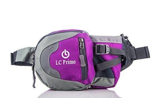 Oferta: 10.99€. Comprar Ofertas de LC Prime® Riñonera deportiva Waist Pack Bolsa de cintura Running Bag Bum Bag Drink Pouch con soporte de botella de agua (la b barato. ¡Mira las ofertas!