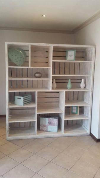 "·        Garden or Living area, Sophisticated, authenticPallet furniture here! Take a moment to check out our website www.ccreations.co.za or facebook page""ccreations"" to view our range of exclusive, custom-handmade pallet productsfrom a mix of new and old timber wood."