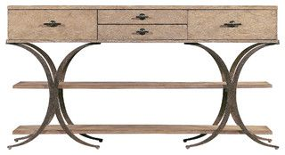 Coastal Living Resort Del Mar Sideboard in Distressed Weathered Pier - tropical - buffets and sideboards - by Custom Furniture World
