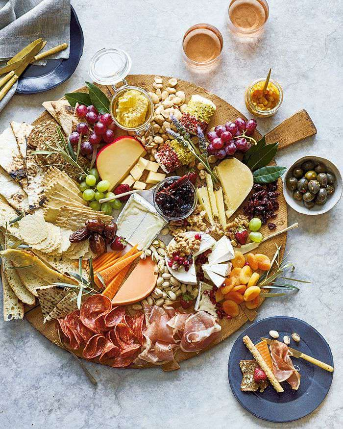 Lunch in 2020 Thanksgiving appetizers, Food platters